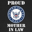 Proud US Navy Mother In Law Long Sleeve T-Shirt