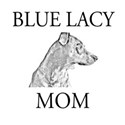 Blue Lacy Mom Tee