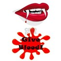 Give Blood - To A Vampire T-Shirt