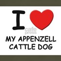 I love MY APPENZELL CATTLE DOG T-Shirt