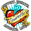 Tourette's Tattoo Heart Women's T-Shirt