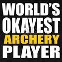 Worlds Okayest Archery Player Designs T-Shirt
