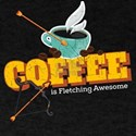 Funny Archery Coffee is Fletching Awesome T-Shirt