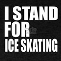I Stand For Ice skating T-Shirt