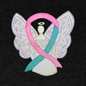 Breast & Ovarian Cancers Awareness Ribbon T-Shirt