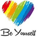 Be Yourself LGBTQ Coming Out Day T-Shirt