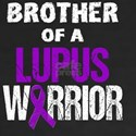 Brother of a Lupus Warrior with Ribbon T-Shirt