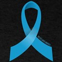 Prostate Cancer Awareness Ribbon T-Shirt