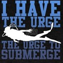 Urge To Submerge - Scuba Diving T-Shirt