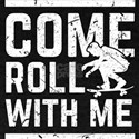 Come Roll With Me Skateboarding Birthday G T-Shirt