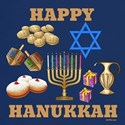 Happy Hanukkah Symbols T-Shirt