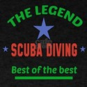 The Legend Scuba Diving Sports Design T-Shirt