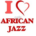 I Love AFRICAN JAZZ T-Shirt