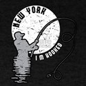 NY New York Fishing design Gift for Fisher T-Shirt