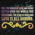 Feel the waves of love and peace settle ov T-Shirt