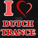 I Love DUTCH TRANCE T-Shirt