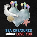 Sea Creatures Love You T-Shirt