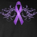 Purple Ribbon T-Shirts and Apparel