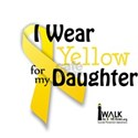 Yellow for Daughter White T-Shirt