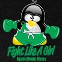 Mental Illness Fighting Pengu T-Shirt