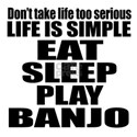 Eat Sleep And Banjo Shirt