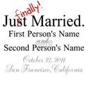 Finally Married (Customizable)