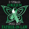 I Wear Green for my Father In T-Shirt