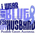I Wear Light Blue 6.4 Prostate Cancer White T-Shir