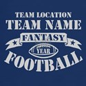 PERSONALIZED FANTASY FOOTBALL GRAY