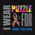 Autism Awareness Ribbon Customized T-Shirt