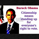 Citizenship Means Standing Up - Barack Obama T-Shi
