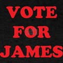 VOTE FOR JAMES T-SHIRTS
