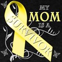 My Mom is a Survivor (yellow) T-Shirt