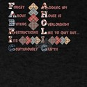 FABRICAHOLICS QUILTERS TEE SHIRT T-Shirt