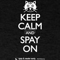 Keep Calm and Spay On - Cat