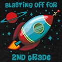 Blast Off For 2nd Grade T-Shirt