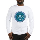 10000 Dives Milestone Long Sleeve T-Shirt