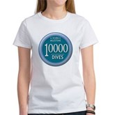 10000 Dives Milestone Women's T-Shirt