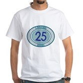 25 Logged Dives White T-Shirt
