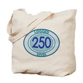 250 Logged Dives Tote Bag