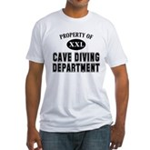 Cave Diving Department Fitted T-Shirt