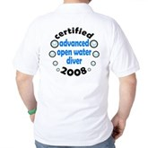 Certified AOW 2008 Golf Shirt