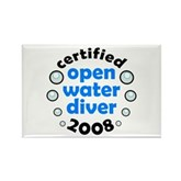 Open Water Diver 2008 Rectangle Magnet