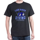 Coed Naked Diving Dark T-Shirt