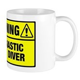 Warning: Newbie Diver Mug