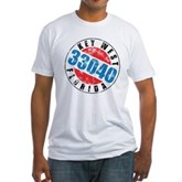 Vintage Key West 33040 Fitted T-Shirt