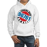 Lahaina Maui 96761 Hooded Sweatshirt