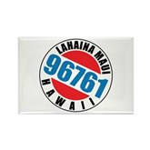 Lahaina Maui 96761 Rectangle Magnet
