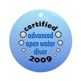 Advanced OWD 2009 Ornament (Round)