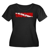 Tauchen German Scuba Flag Women's Plus Size Scoop